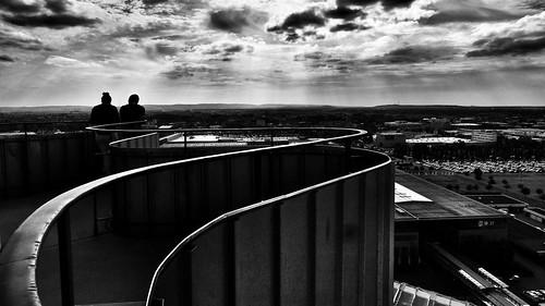 Blick vom Hermesturm auf dem Messegelände Hannover | by MarkusPfl