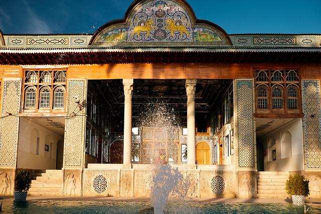 Shiraz - Bagh-e Narandschestan Museum