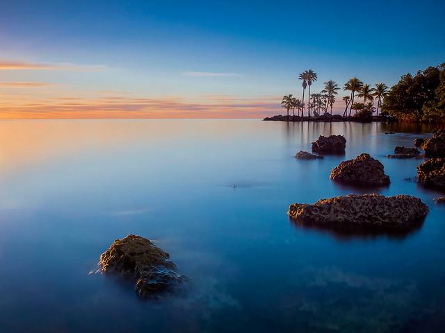 Bay Sunrise, Coral Gables, Florida.