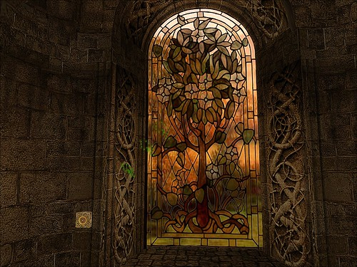 Valkyrie Forest - Stained Glass Tree of Life | by mromani50