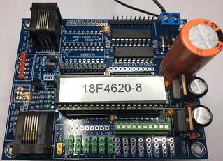 Testopstelling met componenten LocoNet IO V6p0 | by geert.giebens
