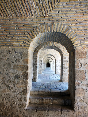 asia europe azerbaijan sheki town urban architecture dana iwachow dragoman silk road trip overland september 2018 shaki palace karavanserai