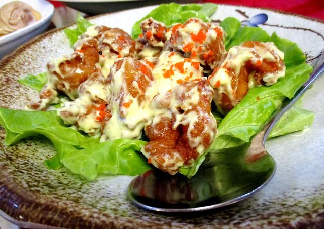 New Capital wasabi prawns