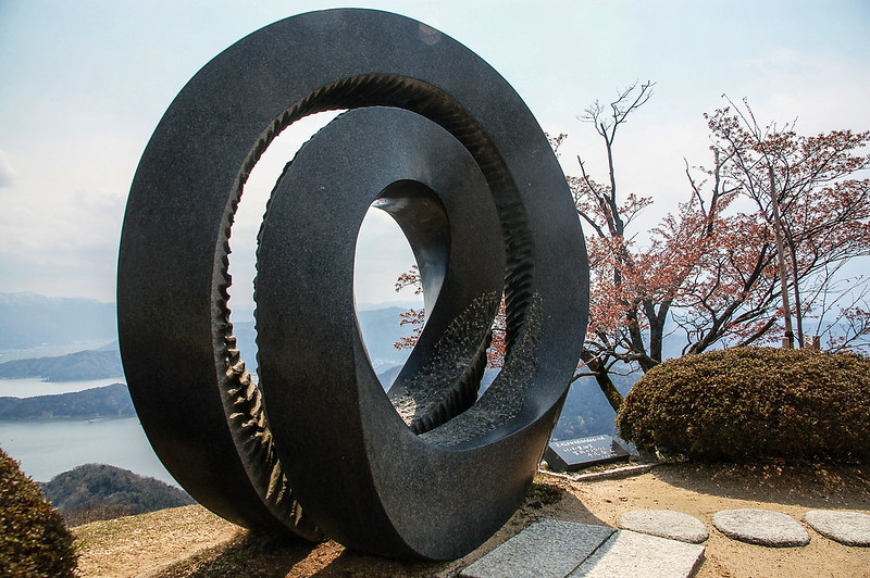 莫比烏斯之輪 (Möbius loop)象徵愛情永恆