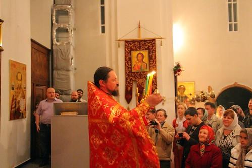 Пасхальное Богослужение в Свято-Никольском храме станицы Кавказской IMG_1322