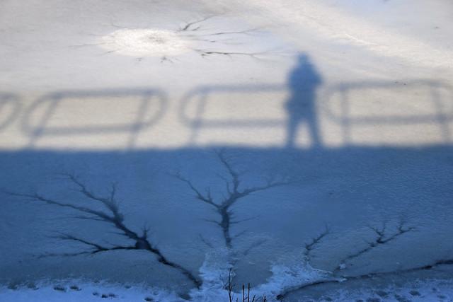 Frozen Lake Sunday Selfie