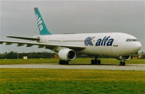 A300 Air Alfa TC-ALV Bristol Filton   by oldpeckhamboy1