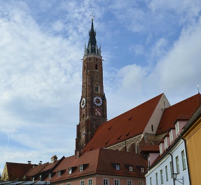 Landshut - Tall Steeple