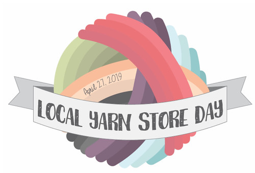Save the Date! Saturday, April 27th from 10 am until 4 pm will be this year's Local Yarn Store Day! Stay tuned!