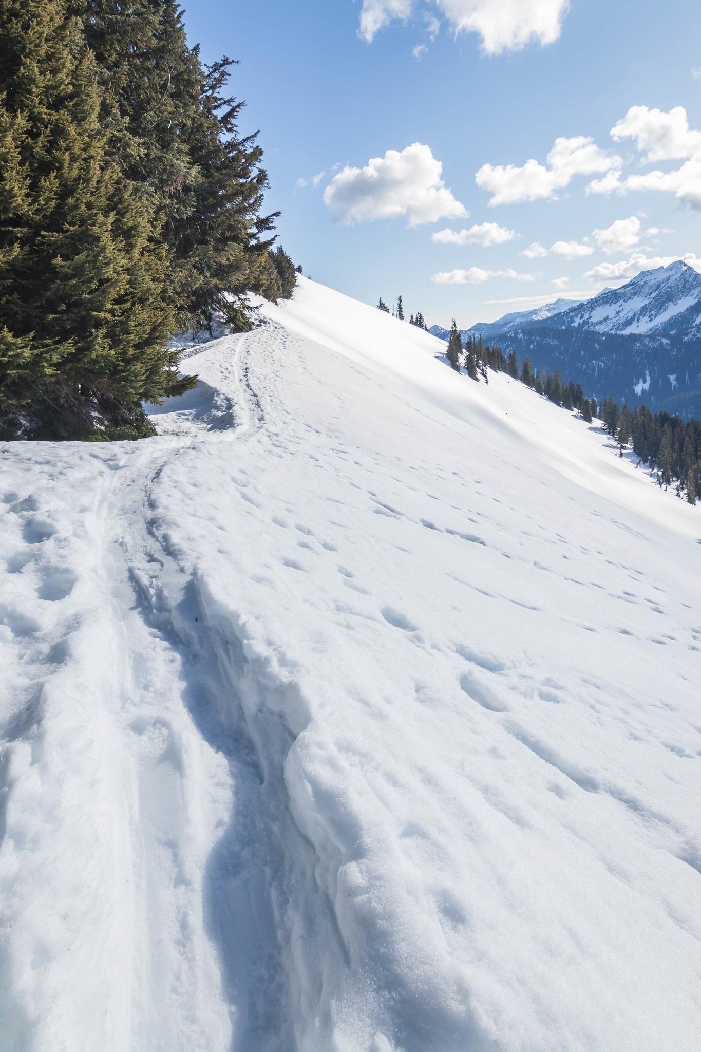 Onward to Big Chief Mountain summit
