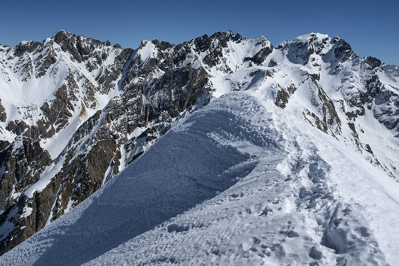 Cima Soliva: la cresta nevosa finale