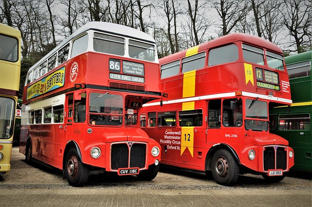 Sparkly Routemasters....