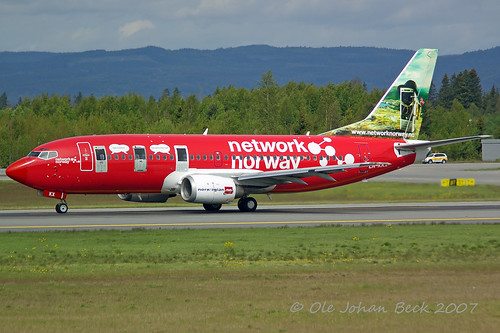 Norwegian B737-33S LN-KKX at ENGM/OSL 22-05-2007 | by Ole Johan Beck