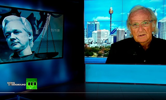 John Pilger: This Is An Assault On Journalism and Citizenship + Assange's Arrest Is A Message To Journalists All Over The World