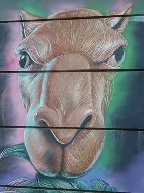 Dubai - City Walk - mural - 3