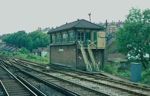 Preston Park signalbox in 1980 | by Tom Burnham