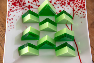 012-2018_12_Jello-Christmas-Trees   by Food Librarian