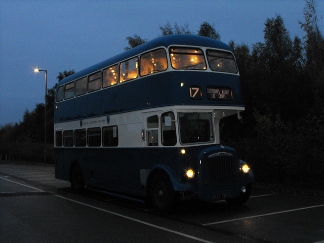 57, TJV 100 (NAT 766A), Daimler CVG6 @ Teal Park'n'Ride, Nov. 2018 (16)
