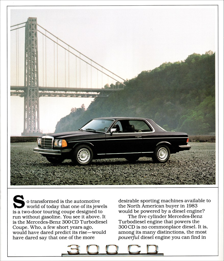 1983 Mercedes-Benz 300 CD | Alden Jewell | Flickr