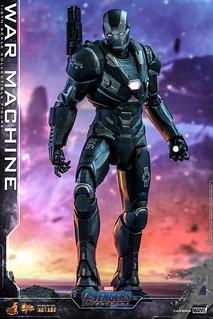 更具流線感的新裝甲!! Hot Toys - MMS530D31 -《復仇者聯盟:終局之戰》戰爭機器 War Machine 1/6 比例人偶作品