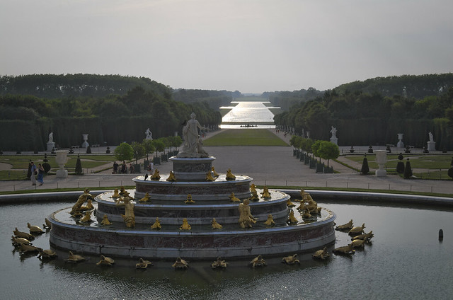Versailles, Paris end of the day..