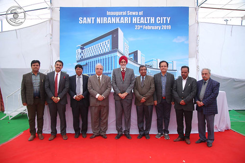 A Team of Sant Nirankari Health City