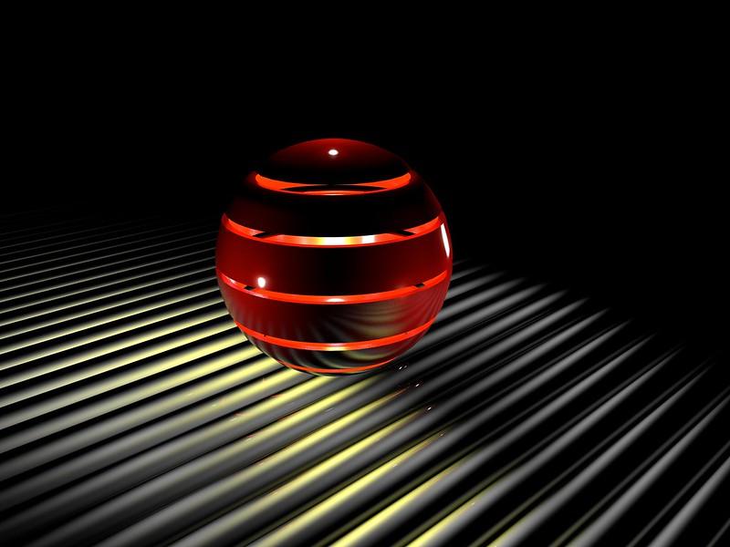 Обои сфера, свет, 3d, шар, пространство картинки на рабочий стол, фото скачать бесплатно