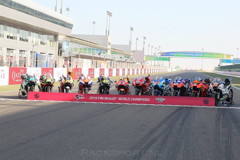 MotoGP bikes 2019