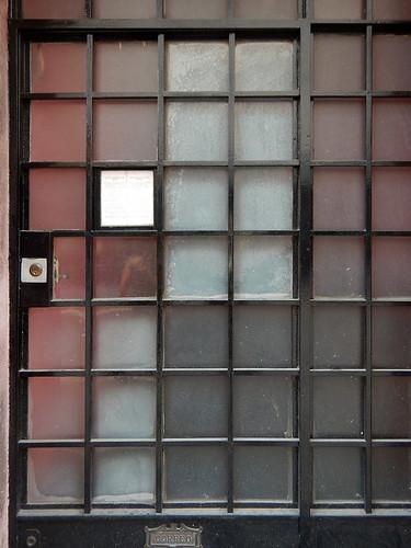 Door to the Casa Barragán in Mexico City