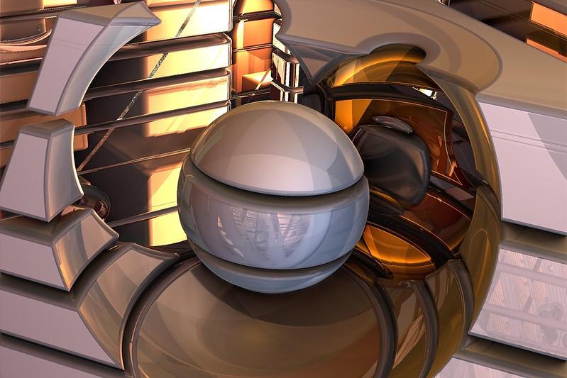 Обои шар, форма, погружение картинки на рабочий стол, фото скачать бесплатно