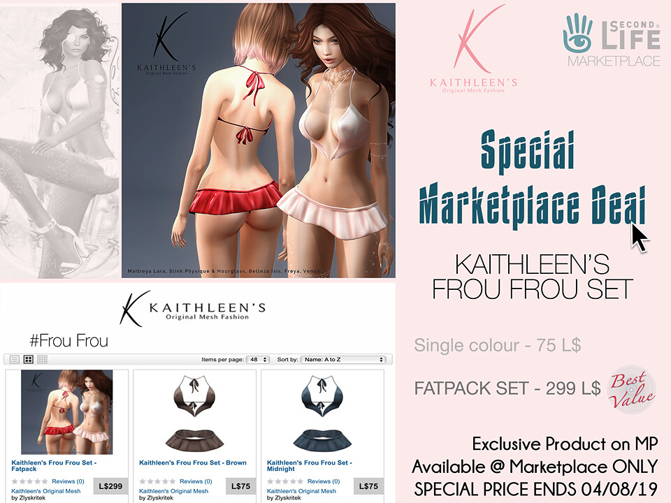 Kaithleen's Frou Frou Set - TeleportHub.com Live!