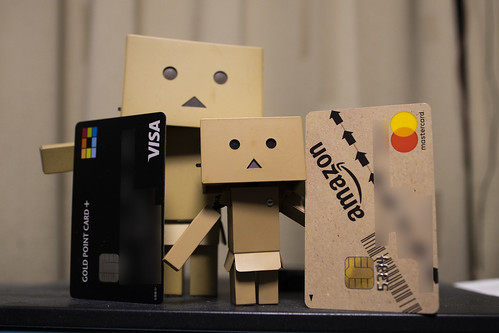 amazon & yodobashi card