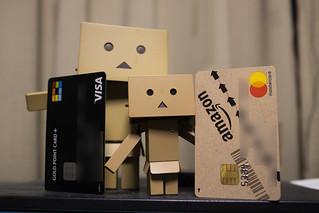 amazon & yodobashi card   by SAIKATYO