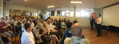 Panorama: Climate Forum for Wills with Peter Khalil MP and Mark Butler MP | by John Englart (Takver)