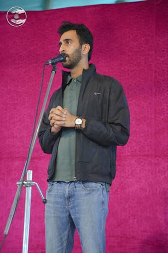Samdeesh Raisinghani, expresses his views