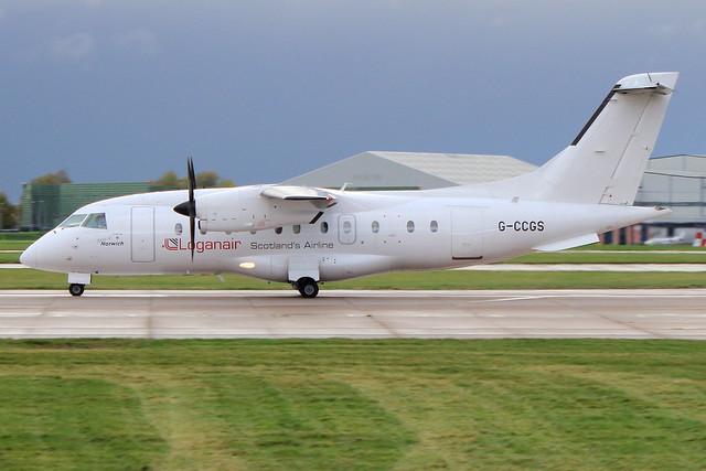Loganair - Dornier 328-110 - G-CCGS 'Spirit of Norwich'