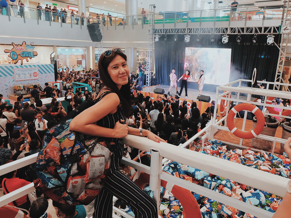 OishiSnacktacular 2019 in SM City Clark, Pampanga