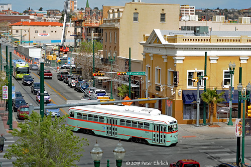 electricrailtransport railsystemselpaso elpaso elpasostreetcar sunmetro pccs streetcars trolleys trams