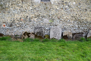 headstones from Linstead Magna