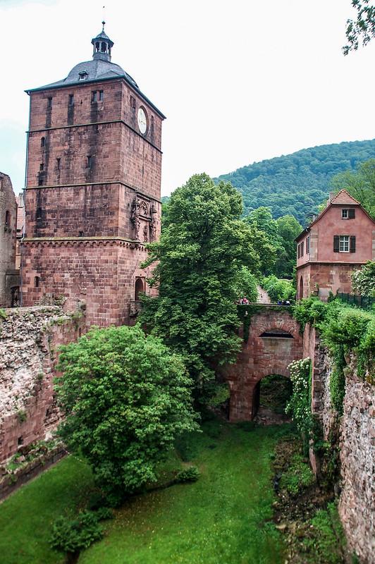 海德堡城堡古城門