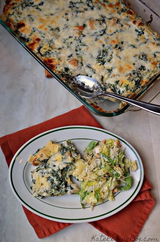 Spinach Artichoke Ravioli 1