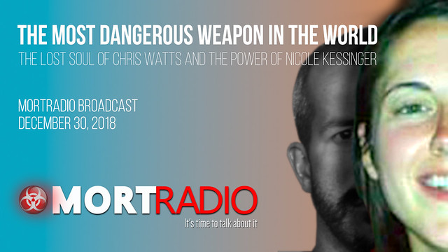 MORTradio Broadcast, Decemeber 30, 2018-The Most Dangerous Weapon in the World