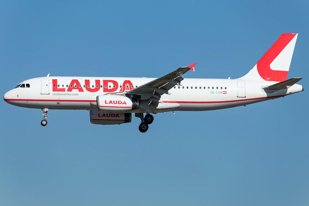 Laudamotion A320-232 OE-LOM
