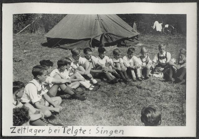 AlbumC168 Zeltlager bei Telgte, Bund Neudeutschland, 1949-1950