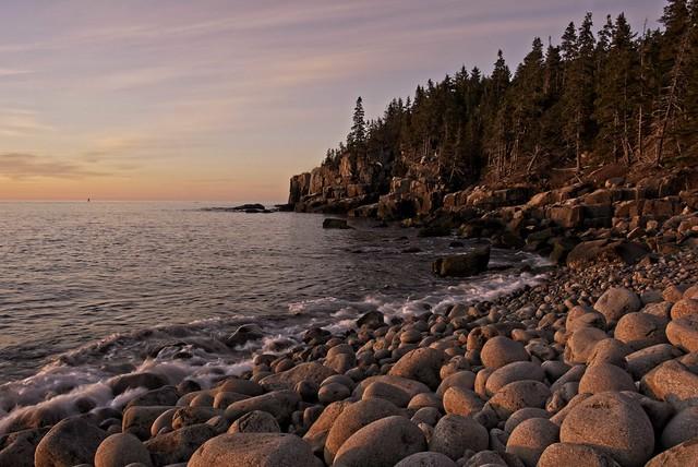 Otter Glow  - Acadia National Park, Maine
