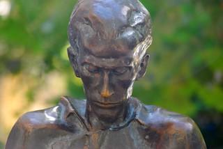 The Statue of Miklós Radnóti   by Istvan