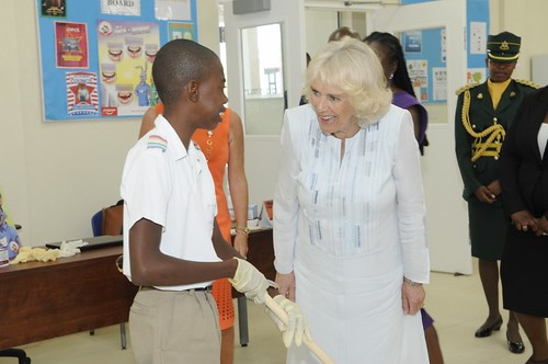The Duchess of Cornwall visits The Derrick Smith School & Vocational Centre (9) | by barbadosgovernmentinformationservice