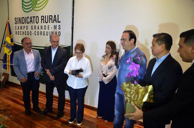 Palestra da Ministra Tereza Cristina no Sindicato rural de Campo Grande