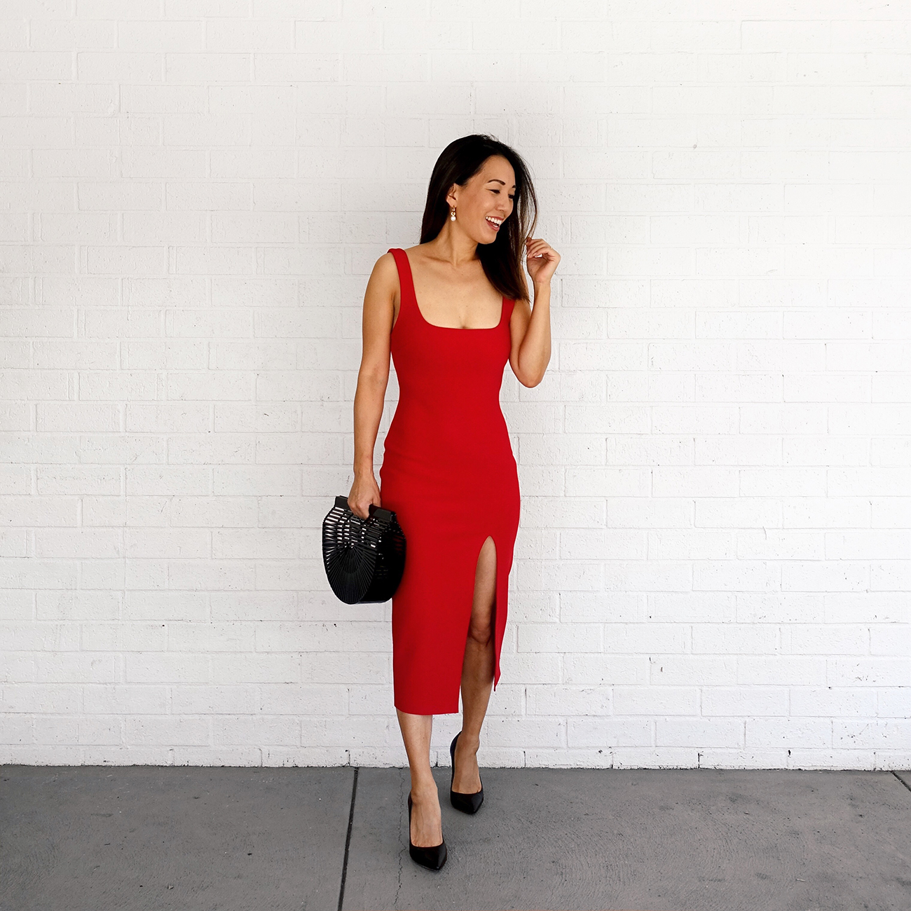 Bec & Bridge Red Dress