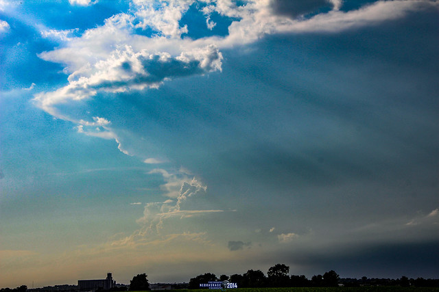 070714 - Late Afternoon Nebraska Thunderstorms 002 (Remastered)